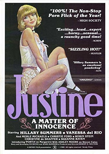 Justine - A Matter of Innocence Poster Movie 11x17