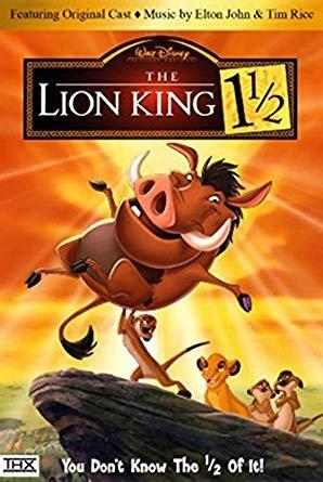 The Lion King 1 1/2 (DVD, 2004, 2-Disc Set)