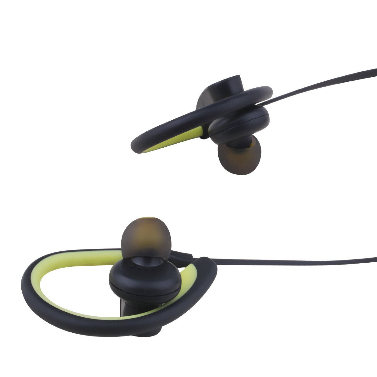 Bluetooth Headphones, Stereo Bluetooth in-Ear Earphones Sports Noise Canceling Headset Waterproof Bluetooth Earbuds for Most Smart Phones (Yellow)