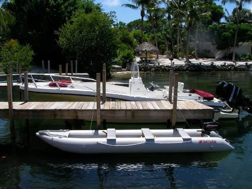 Amazon.com: Saturn 15 ft kaboat sk470 Kayak inflable/barco ...