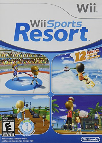 Wii Sports Resort (Wii U Games That Require Motion Plus)