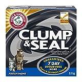 ARM & HAMMER Clump & Seal Cat Litter, Fresh Home Scent, 9.1-kg