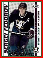 2003-04 Pacific Heads Up #1 Sergei Fedorov ANAHEIM MIGHTY DUCKS
