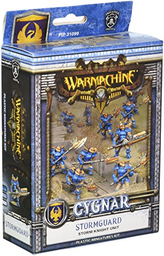 Storm Knights - Privateer Press - Cygnar - Stormguard Storm Knights Model Kit