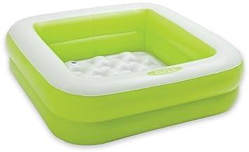 Buy Aarushi Intex Inflatable Baby Bath Tub (Color May Vary Green ...