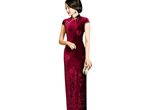 Robe de soiree chinoise longue
