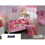 Hello Kitty Crib Bedding Set / Small