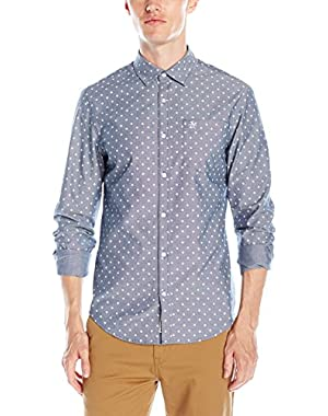 Men's Long-Sleeve Oxford Woven Shirt