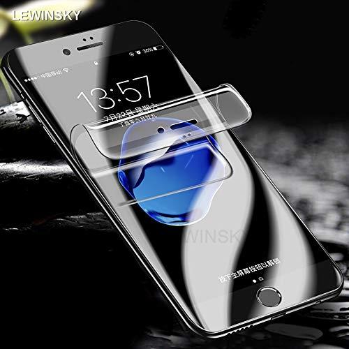 promo code 24872 423ae Amazon.com: Hydrogel Film Full Cover iPhone 8 7 XS Soft Screen ...