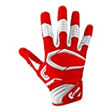 Cutters Gloves S451 Rev Pro 2.0 Receiver Safety Cornerback Football Gloves With C-Tack Grip