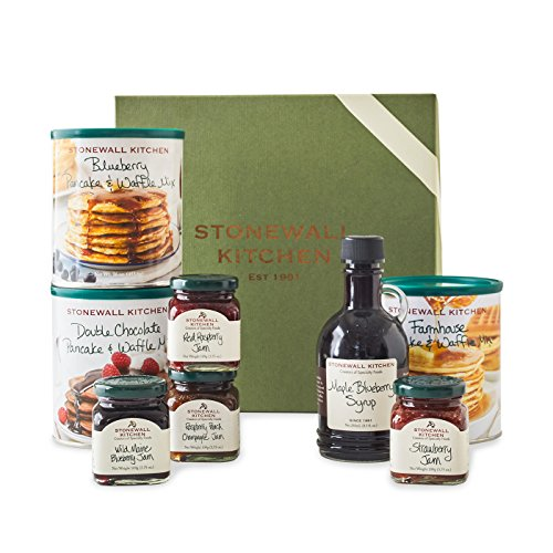 Stonewall Kitchen Pancake Sampler Gift (8 Piece Gift) by Stonewall Kitchen