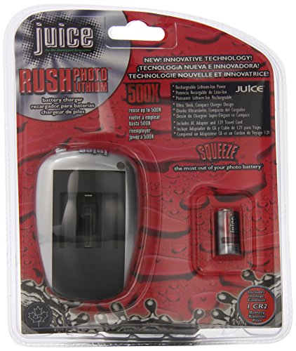 - Juice CR2 Rechargeable Photo Lithium Starter Kit