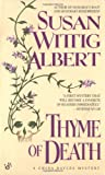 Thyme of Death (China Bayles 1) by  Susan Wittig Albert in stock, buy online here