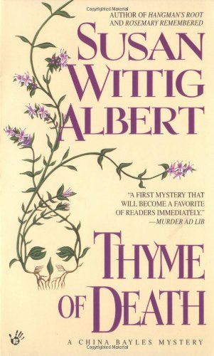 Book cover for Thyme of Death
