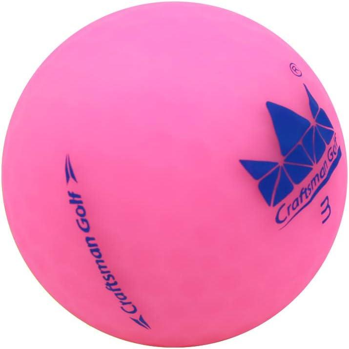 Craftsman Golf Crystal Pink 1pc Matte Golf Balls Ball