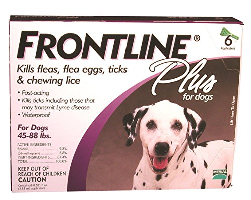merial-frontline-plus-flea-and-tick-control-for-45-to-88-pound-dogs-6-doses