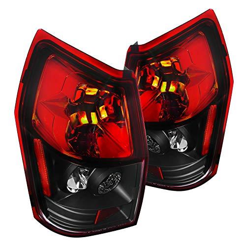 Spec-D Tuning LT-MAG05RJM-TM Spec-D Alteeza Tail Lights Red With Black Bottom