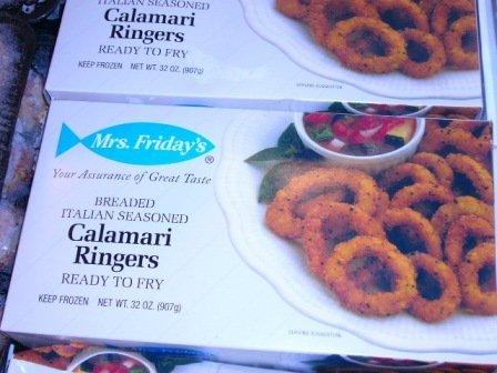 2 Lb Calamari Rings Breaded