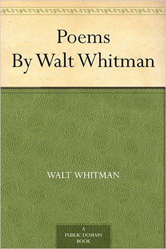 Amazoncom Poems By Walt Whitman Ebook Walt Whitman