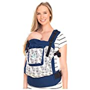 4 in 1 ESSENTIALS Baby Carrier by LILLEbaby – Blue Maritime