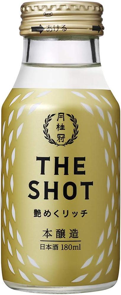 月桂冠 THE SHOT 艶めくリッチ(本醸造) [ 日本酒 京都府 180ml ]
