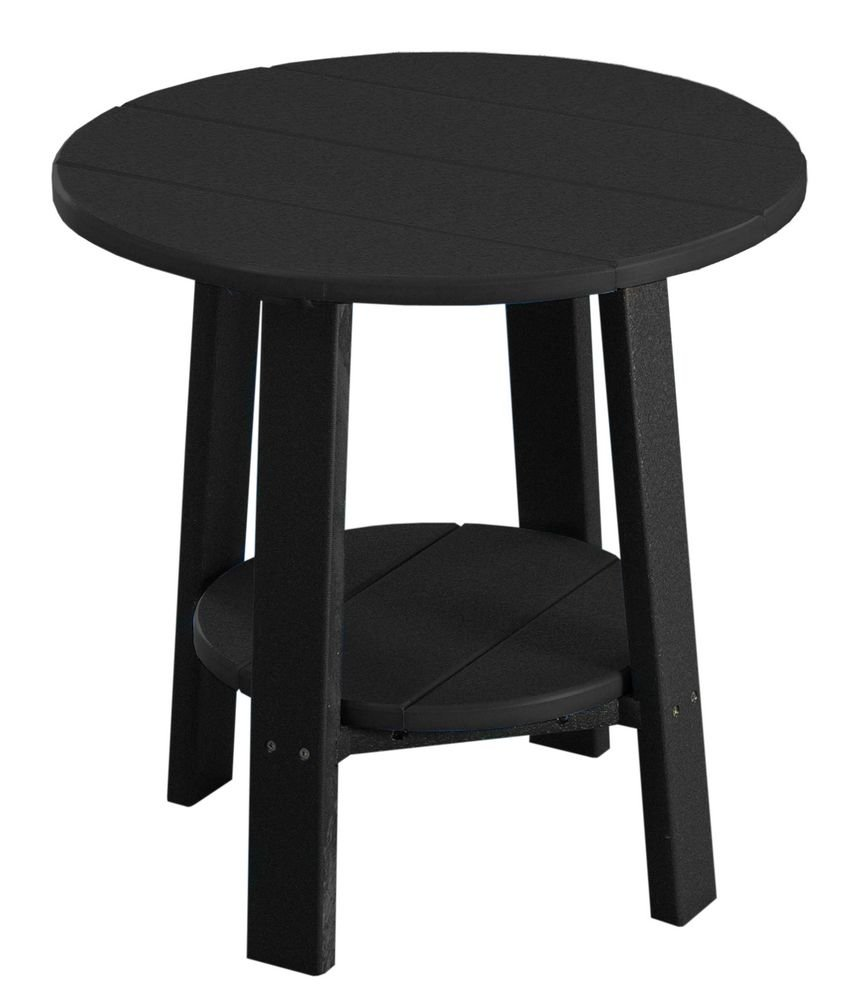 Deluxe End Table - Poly - Black