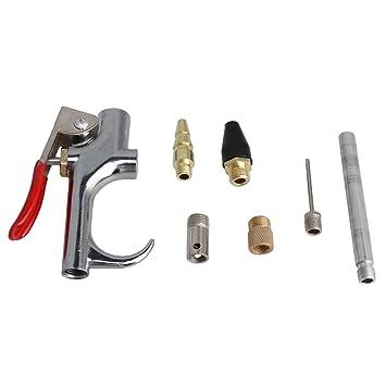 BQLZR - Juego de accesorios para compresor de aire de cobre para boquillas de inflado: Amazon.es: Coche y moto