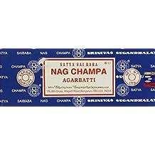 Satya Sai Baba Nag Champa Agarbatti, 250 G (Pack of 2)