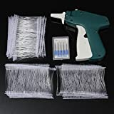 Winnerbe Clothes Tagging Gun Price Label Tag Gun Labeler Tag Attacher Clothing Tag Gun with 1000 White Barbs Fasteners and 5 Extra Steel Needles