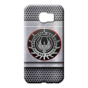 samsung galaxy s6 edge cover Snap pattern phone carrying cases battlestar galactica