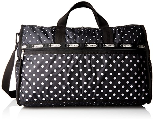 LeSportsac Large Weekender Bag, Sun/Multi/Black, One Size (Pouch Multi Weekender)