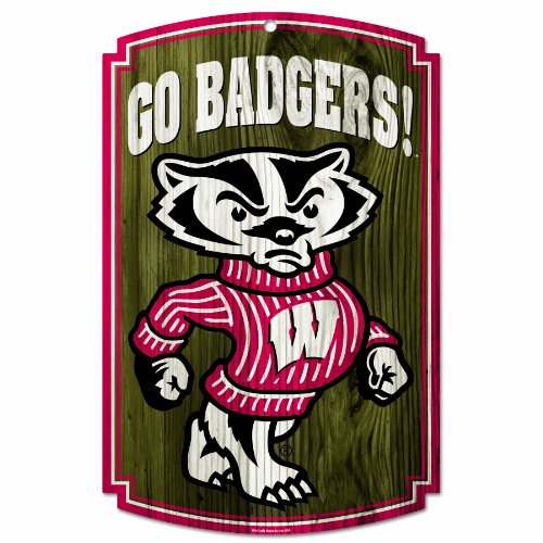 NCAA Wisconsin Badgers Wood -