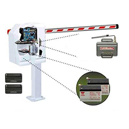Liftmaster Mega Arm (MADCBB3) Operator with 850LM Receiver, Two 12V/7AMP Batteries
