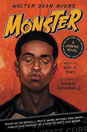Monster: A Graphic Novel by Walter Dean Myers - City Perth Myers