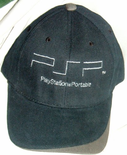 PSP PLAYSTATION PORTABLE Embroidered Baseball Styled Cap