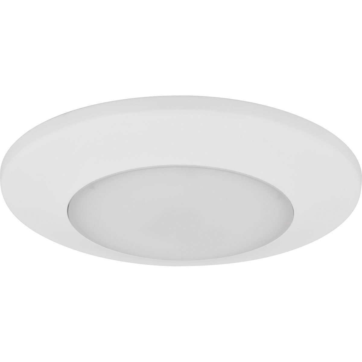 Progress Lighting P8022-28/30K9-AC1-L10 IC/Non-IC Close-To-Ceiling LED Fixture 1-Light White