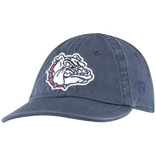 Top of the World Gonzaga Bulldogs Infant Hat Icon, Navy, Adjustable - Gonzaga Bulldogs Bulldog