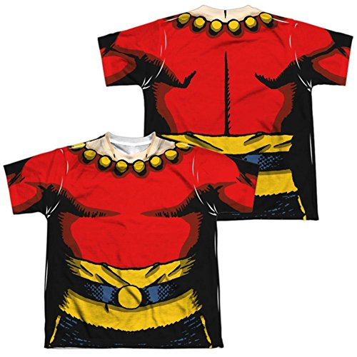 Children's Flash Gordon Costume (Youth: Flash Gordon- Flash Costume Tee (Front/Back) Kids T-Shirt Size YXL)