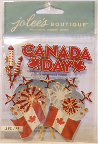 Jolee's Boutique Canada Day Dimensional - Stickers Scrapbook Canada
