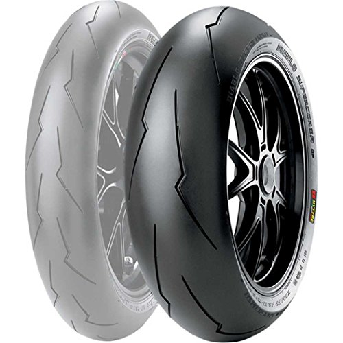 Pirelli Diablo SuperCorsa SP V2 Tire - Rear - 180/55ZR-17 , Position: Rear, Rim Size: 17, Tire Application: Race, Tire Size: 180/55-17, Tire Type: Street, Load Rating: 73, Speed Rating: (W), Tire Construction: Radial 2244800