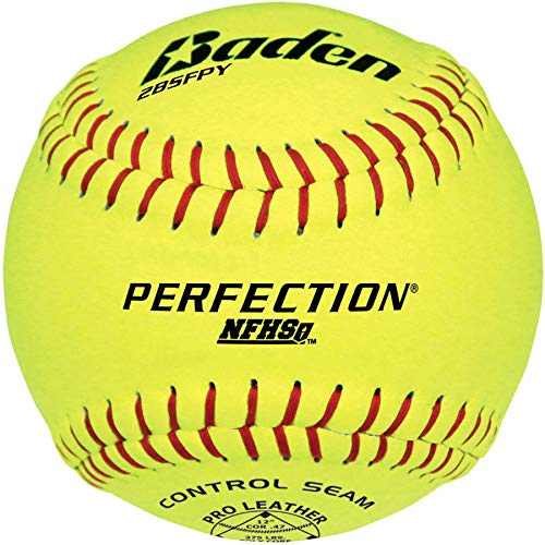 Baden Perfection Game Softballs (NFHS Approved) ()