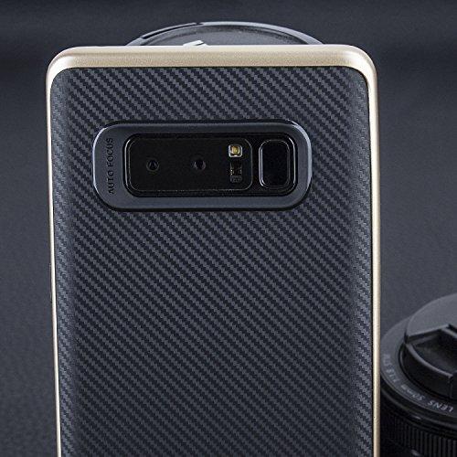 promo code 92598 6e190 SHOPUS   Olixar Samsung Galaxy Note 8 Carbon Fiber Case - Tough ...