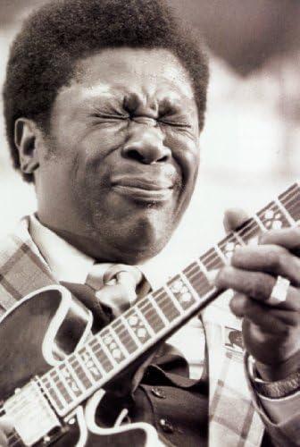 Desconocido B. B. King Póster, Tocando la Guitarra, Blues músico ...