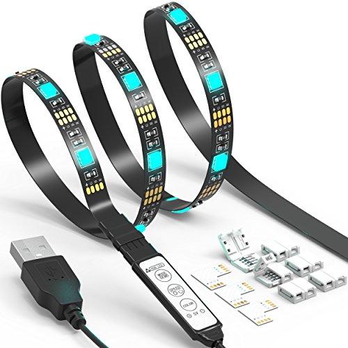 TV LED Light Strip JACKYLED 6.6Ft 60Leds LED TV...