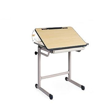 Amazon.com: Virod- Mesa de estudio elevable, escritorio de ...
