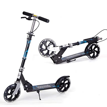 LJHBC Patinete Plegable Kick Scooters para Adultos con Freno ...