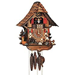 Schneider Black Forest 14 Inch Cuckoo Clock by Anton Schneider