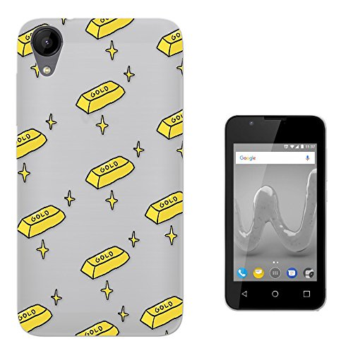 c01386 - Gold Bar Collage Money Gangster Design Wiko Sunny 2 Plus 5