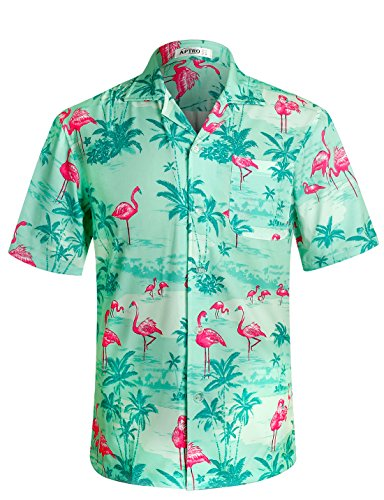 Men's Flamingos and Palms Miami Hawaiian Shirt