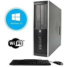 HP Elite 8300 Refurbished SFF Premium Business Desktop Computer ~ Intel Quad-Core i5-3470 up to 3.6GHz, 16GB RAM, 240GB SSD, DVD, WiFi, VGA, DisplayPort, Windows 10 Professional